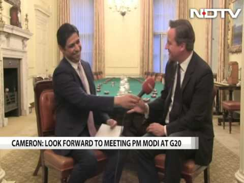 Important that India, Pakistan talk: David Cameron to NDTV