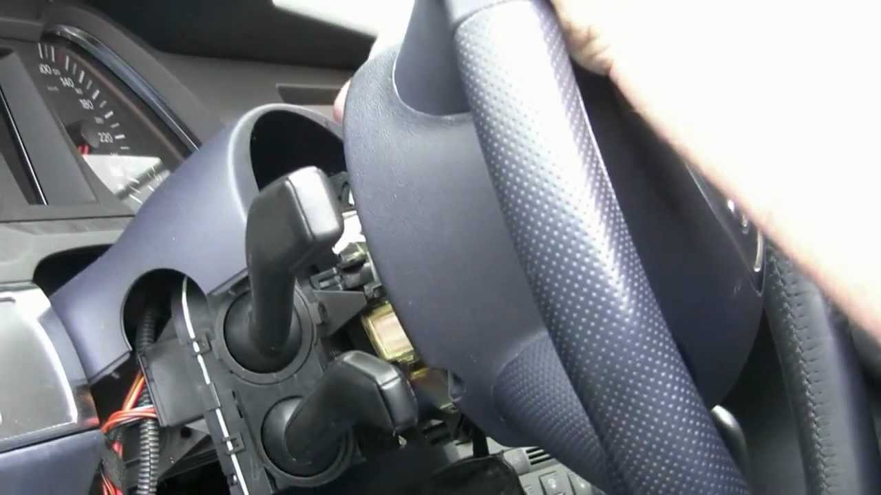 Audi a6 4f acc nachr sten lenkstockschalter youtube for Audi a6 4f interieur