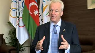 Interview with Baku 2015 Chief Operating Officer Simon Clegg (Space TV)