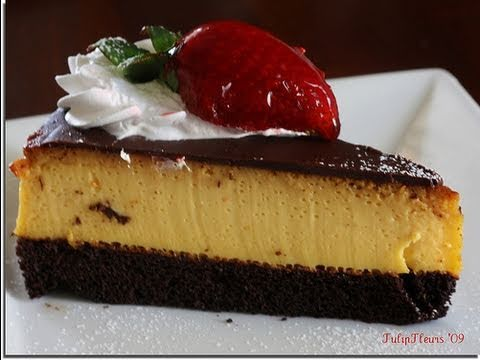 Receta De ChocoFlan O Pastel Imposible SIN HORNO - Recipe for Impossible Cake, or ChocoFlan