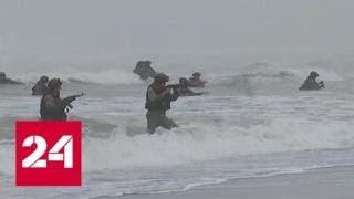 """""""Где мы, там победа"""": масштаб средиземноморских учений потрясает - Россия 24"""