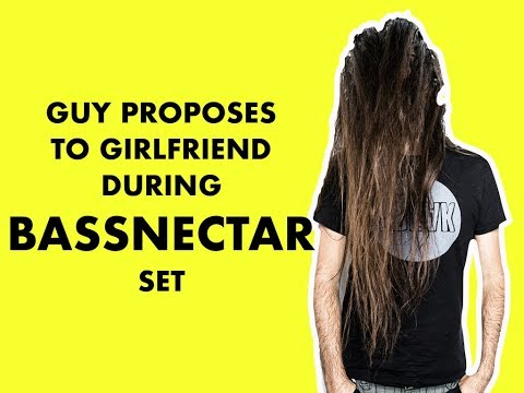 Guy Proposes To Girlfriend During Bassnectar At Tomorrowworld 2014 - 9 26 2014 video