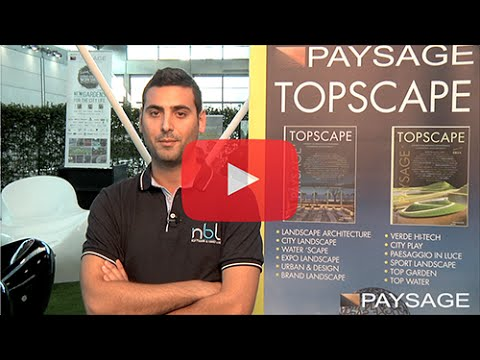 PAYSAGE - NEW GARDENS FOR CITY LIFE 2014 NBL SOFTWARE – MARCO MANTOVANI AD