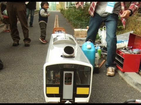 Gas turbine model train at Tokyo Make Meeting 06