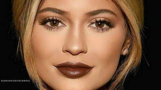 Kylie Jenner Fall Makeup Tutorial 2015