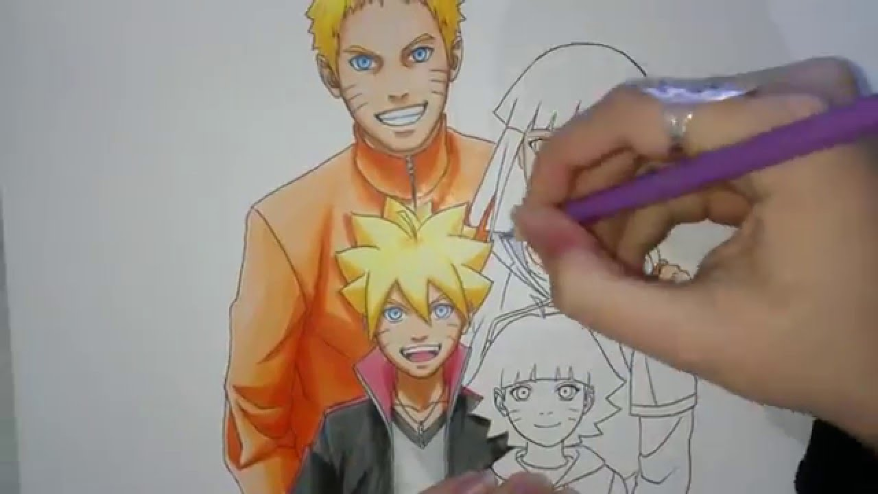 Youtube Family Drawing Speed Drawing Uzumaki Family