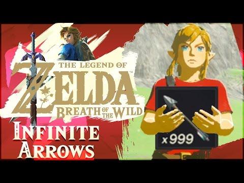 How To Get INFINITE ARROWS In The Legend of Zelda: Breath of the Wild!