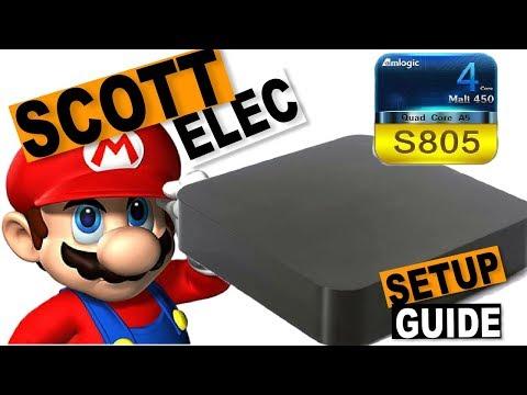 ScottELEC Retro Gaming System Initial Setup Guide: MXQ S805 LibreELEC System