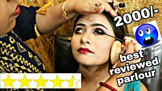 I WENT TO THE BEST REVIEWED MAKEUP ARTIST IN INDIA KOLKATA | Outfit by Ethnicroop