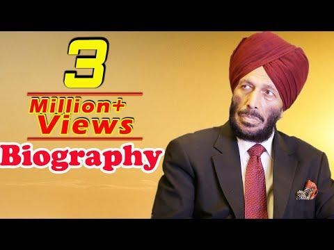 Milkha Singh - The Flying Sikh - Biography - YouTube