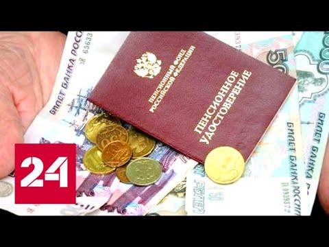 Депутаты одобрили базовые установки законопроекта о пенсионных изменениях - Россия 24