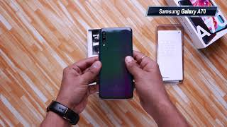 Samsung Galaxy A70: Unboxing Hindi हिन्दी