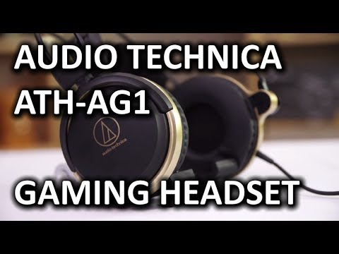 Audio Technica ATH-AG1 Gaming Headset