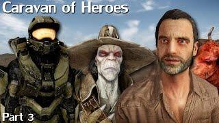 New Vegas Mods: Caravan of Heroes - Part 3