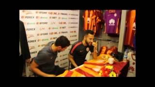 Manisa'da Galatasaray İzdihamı