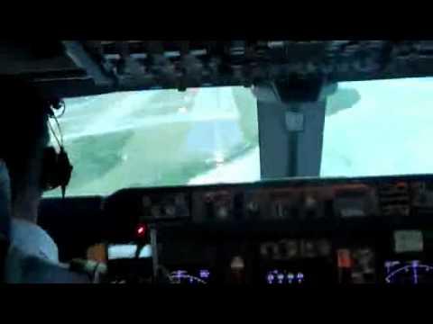 Landing at Diego Garcia 28th May 2011