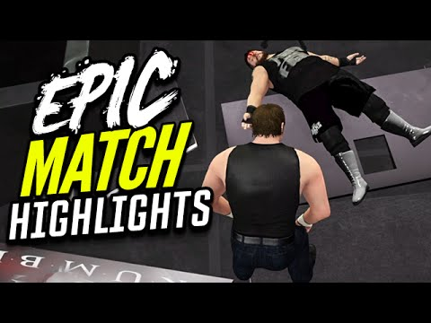 WWE 2K16 Royal Rumble 2016 Dean Ambrose vs. Kevin Owens | Epic Match Highlights!