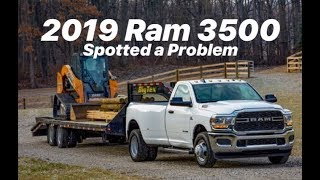 2019 RAM 3500... TOWING 35,000LBS PROBLEMS I SEE...