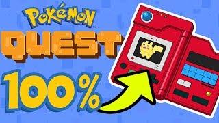 Pokemon Quest - 100% POKEDEX FINALE [Episode 14   Nintendo Switch/Android/IOS]