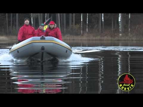 """Тест-драйв лодки """"Норвик 520"""""""