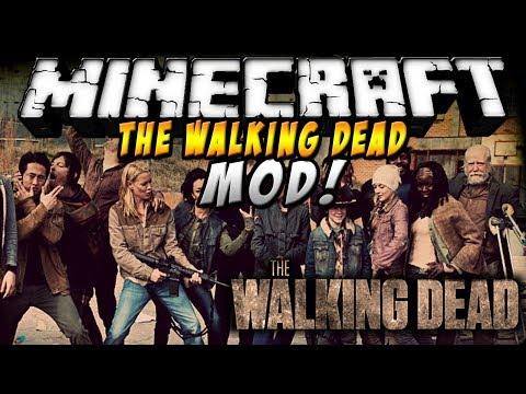 Minecraft - Walking Dead MOD! (Zombies que te masacran de día) - ESPAÑOL TUTORIAL