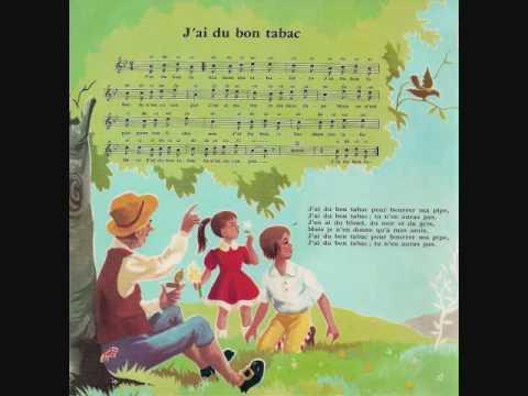 J'ai du bon tabac - Les Petits chanteurs de l'île de France et Renée Caron