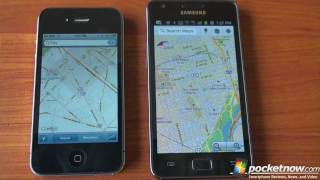 Google Maps for Web on Android and iOS