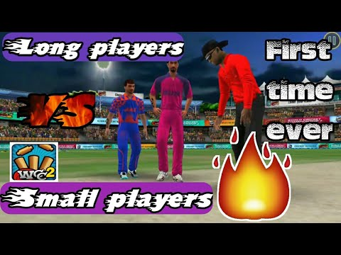 Wcc2 IPL Small players vs long players RR VS RPS Match highlights || First time ever on YouTube