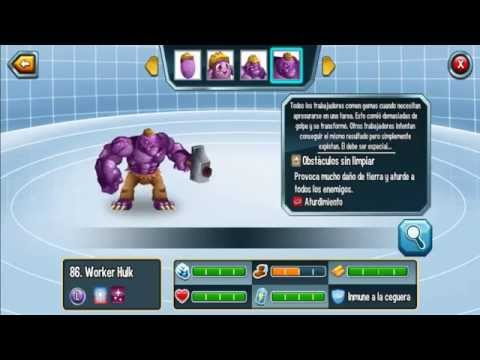 Monster Legends l Monstruos Legendarios l Monstruo Worker Hulk
