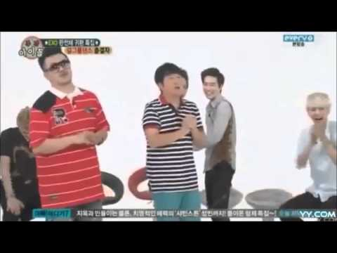 Exo dancing to girl groups [Compilation]