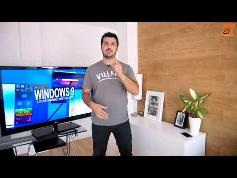 Todo lo que sabemos de Windows 9