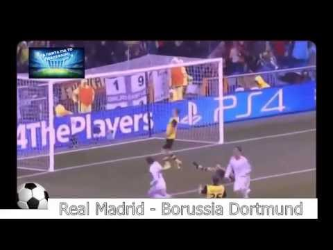 Real Madrid vs Borussia Dortmund 3-0 •Goals•