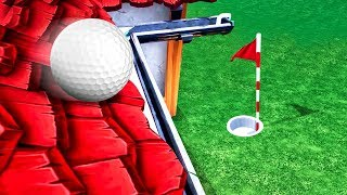 EXTREME ROOF GOLFING! (Golf It)