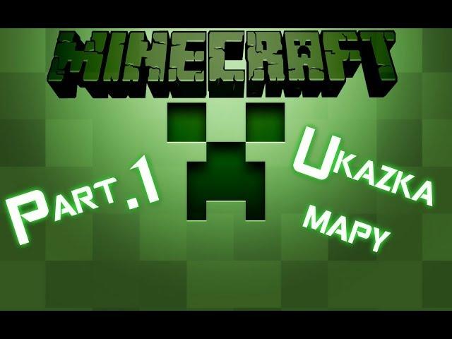 Minecraft-Ukázka mé mapy 1