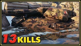 Super Conqueror - 13 Kills - World of Tanks Gameplay