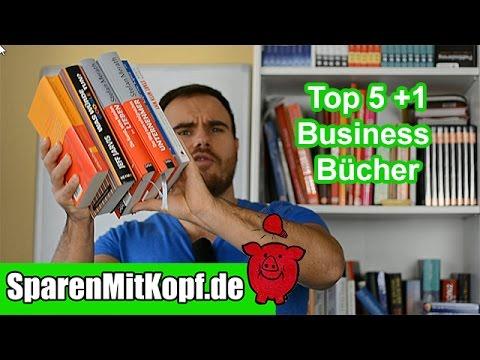 Meine TOP 5 Bücher Unternehmertum, Entrepreneurship, Business