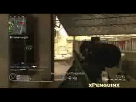 Call of Duty 4 M40A3 Sniper Montage - xPenguinx