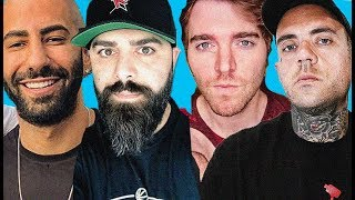 Shane Dawson, Fousey and Keemstar INSANE live interview!!!