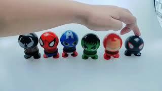 The Avengers series Car's Emoji Body Shake Doll