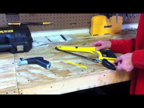 DeWALT DWHT20547 5 in1 Multifunction Hacksaw