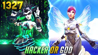 He's A *HACKER* or A GOD!? | Overwatch Daily Moments Ep.1327 (Funny and Random Moments)