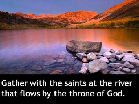 Shall we gather at the river - Burl Ives.wmv