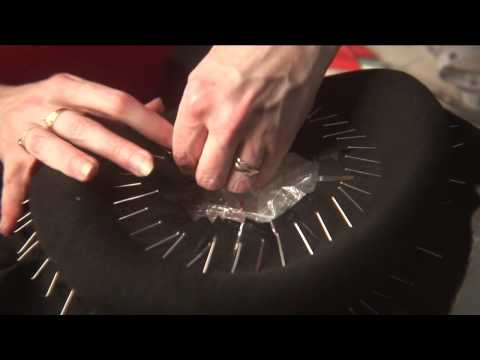 Millinery in Action: making a hat in the Stephen Jones workroom