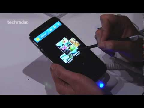 Samsung Galaxy Note 2 Hands on Demo