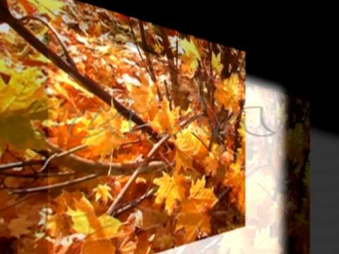 Краски осени.  Воспоминание. Autumn. Музыка E.Крылатова.