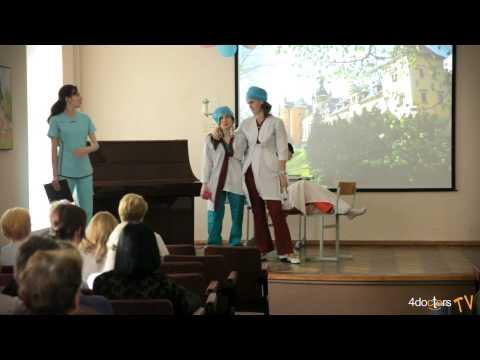 День Медсестры 2013 в 1-ом Мед.Колледже г. Санкт-Петербург
