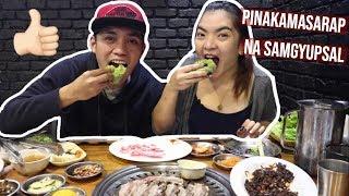 KOREAN BBQ MUKBANG + JAPANESE SUSHI MUKBANG | SEOULGYUPSAL