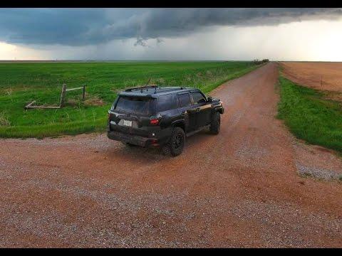 Brandon Sullivan LIVE Oklahoma Tornado Storm Chase 5/9/2016