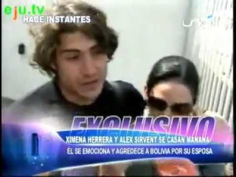 entrevista a Ximena Herrera y Álex Sirvent se casan mañana ...  entrevista a Xi...