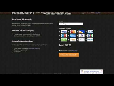 HOW TO HACK MINECRAFT TO GET PREMIUM (free & no surveys) tested 29/4/2012 WORKS